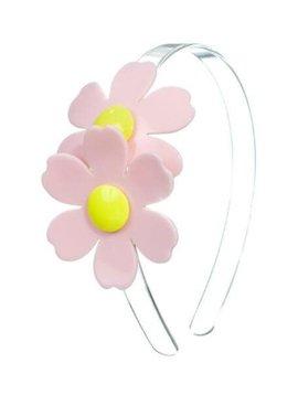 lilies&roses Pink Double Daisy Headband