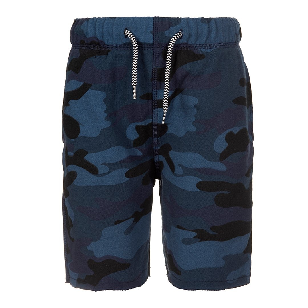 appaman Navy Camo Camp Shorts