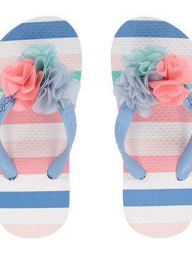 Joules Striped Flip Flop