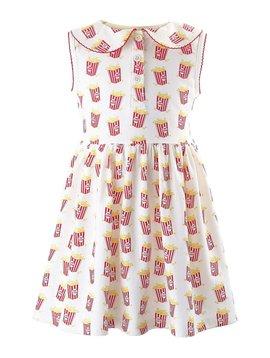 Rachel Riley Popcorn Jersey Dress