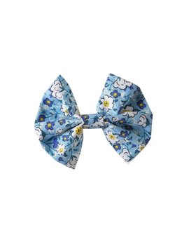 Rachel Riley Blue Spring Floral Hairbow