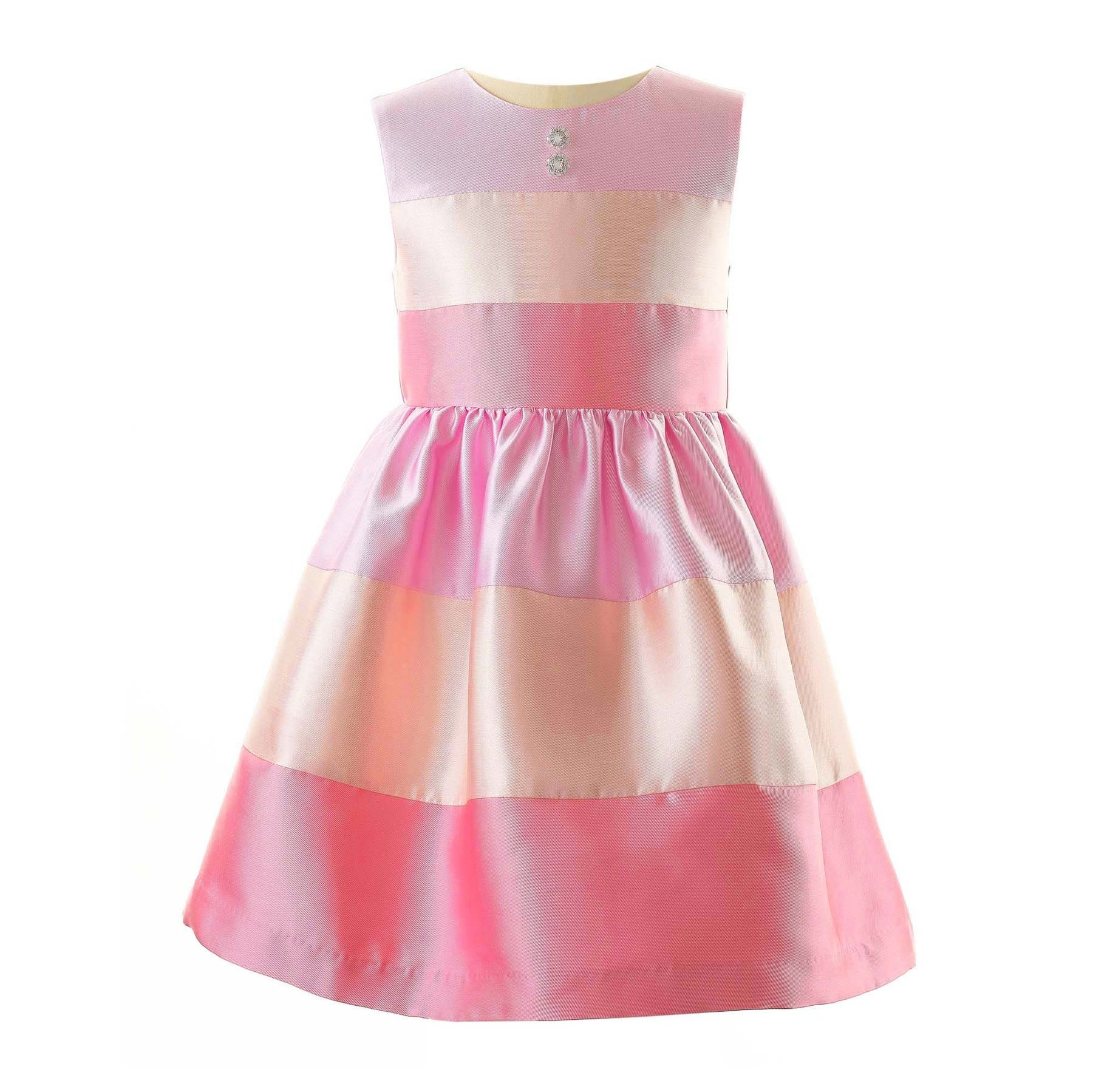 Rachel Riley Candy Stripe Party Dress