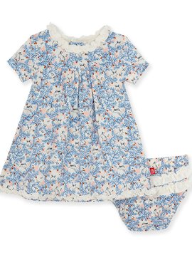 Magnificent Baby Somebunny Floral Dress Set