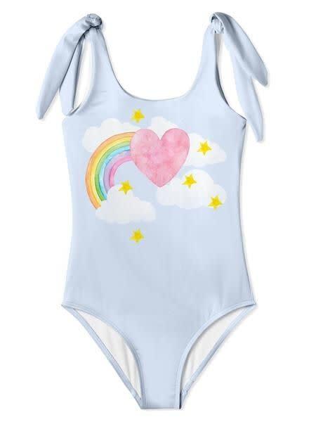 Stella Cove I Love Rainbow Tie Swimsuit