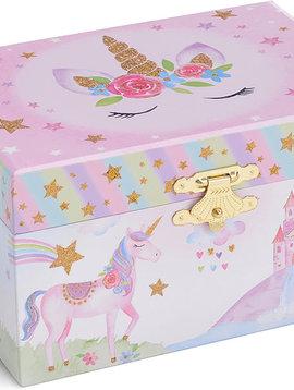 Jewelkeeper Party Unicorn Jewelry Box
