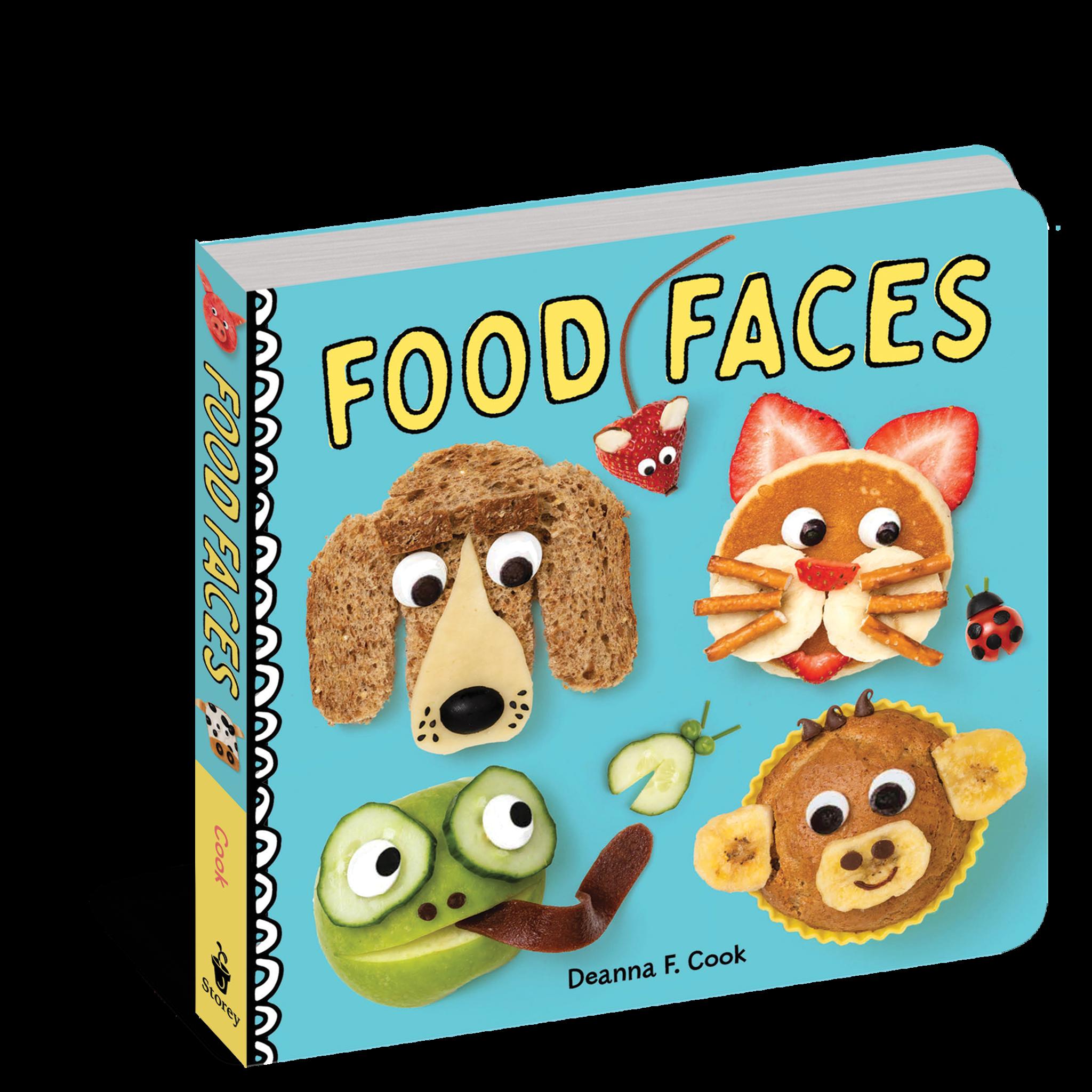 workman publishing Food Faces