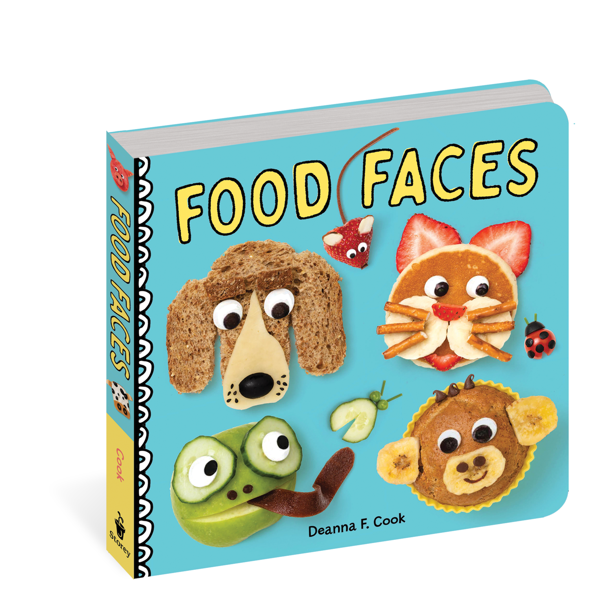 workman publishing Food Faces