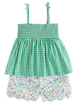 Little English Augusta Green Lucy Short Set