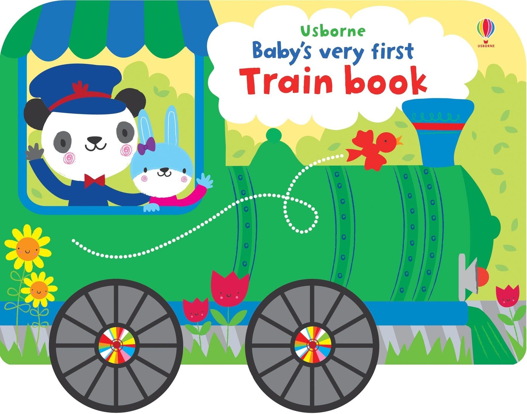 EDC/Usborne Baby's Very First Train Book