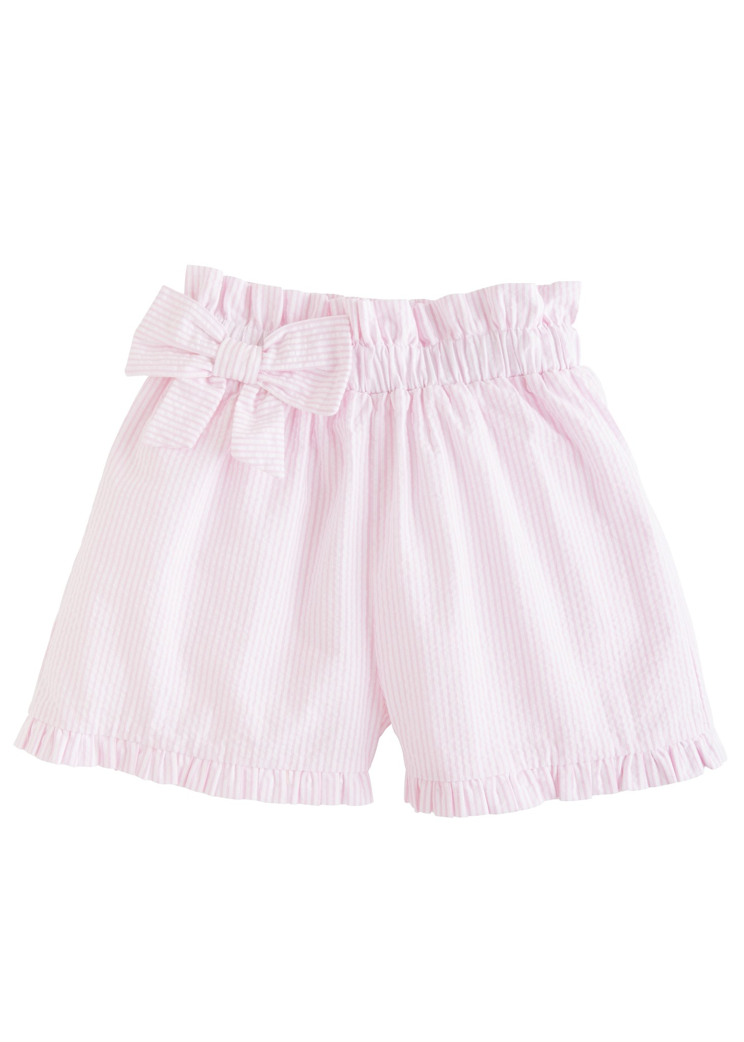 Little English Pink Paperbag Bow Short