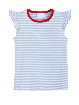 Little English Angel Stripe Tank