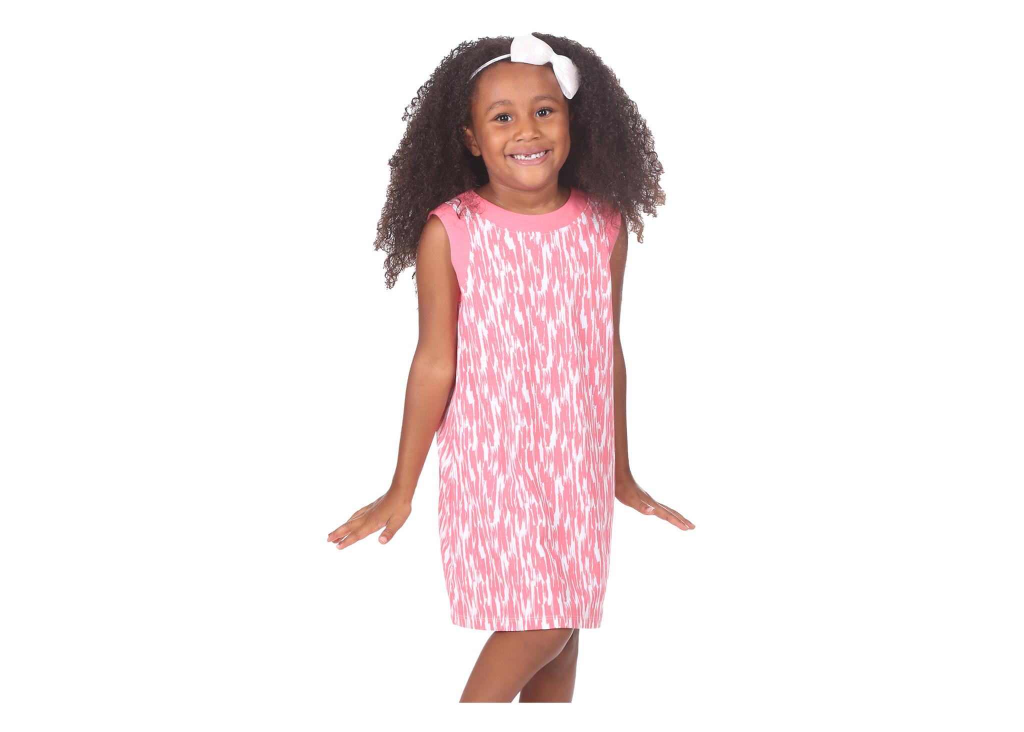 Duffield Lane Strawberry Brush Hattie Dress