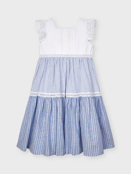 Mayoral Block Stripe Dress