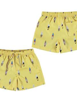 Mayoral Surf Yellow Swim Trunks