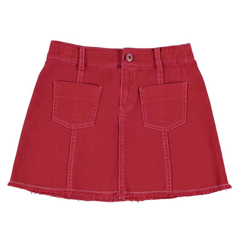 Mayoral Poppy Twill Skirt