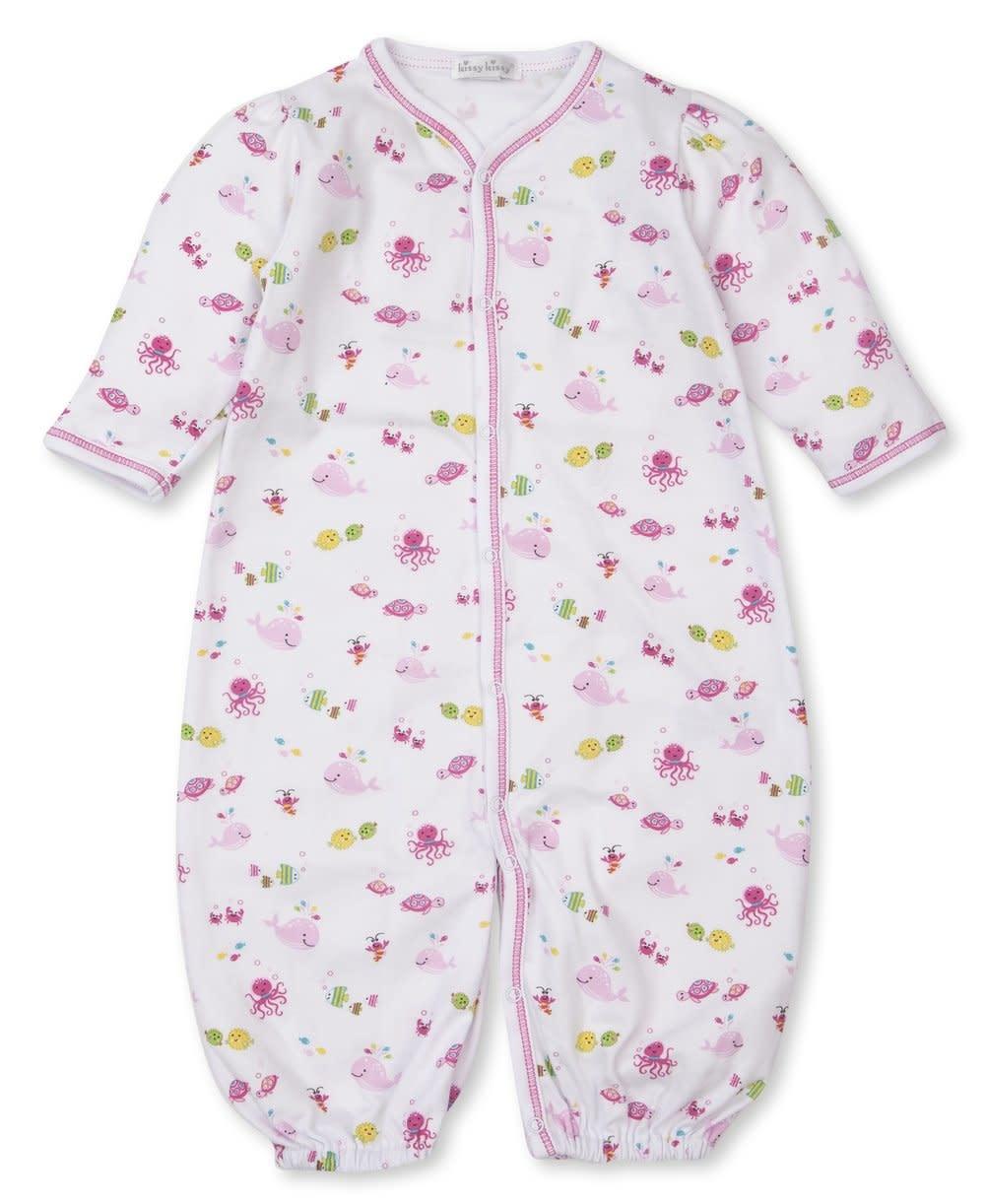 Kissy Kissy Pink Ocean Oasis Conv Gown