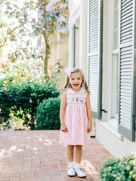 Dogwood Smocking Co To The Zoo Dress