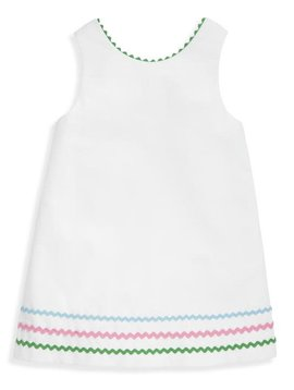 bella bliss White Pique Helen Dress