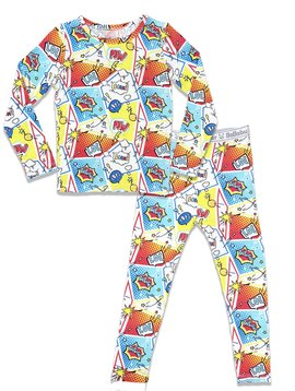Bellabu Bear Bamboo Kids Pajamas