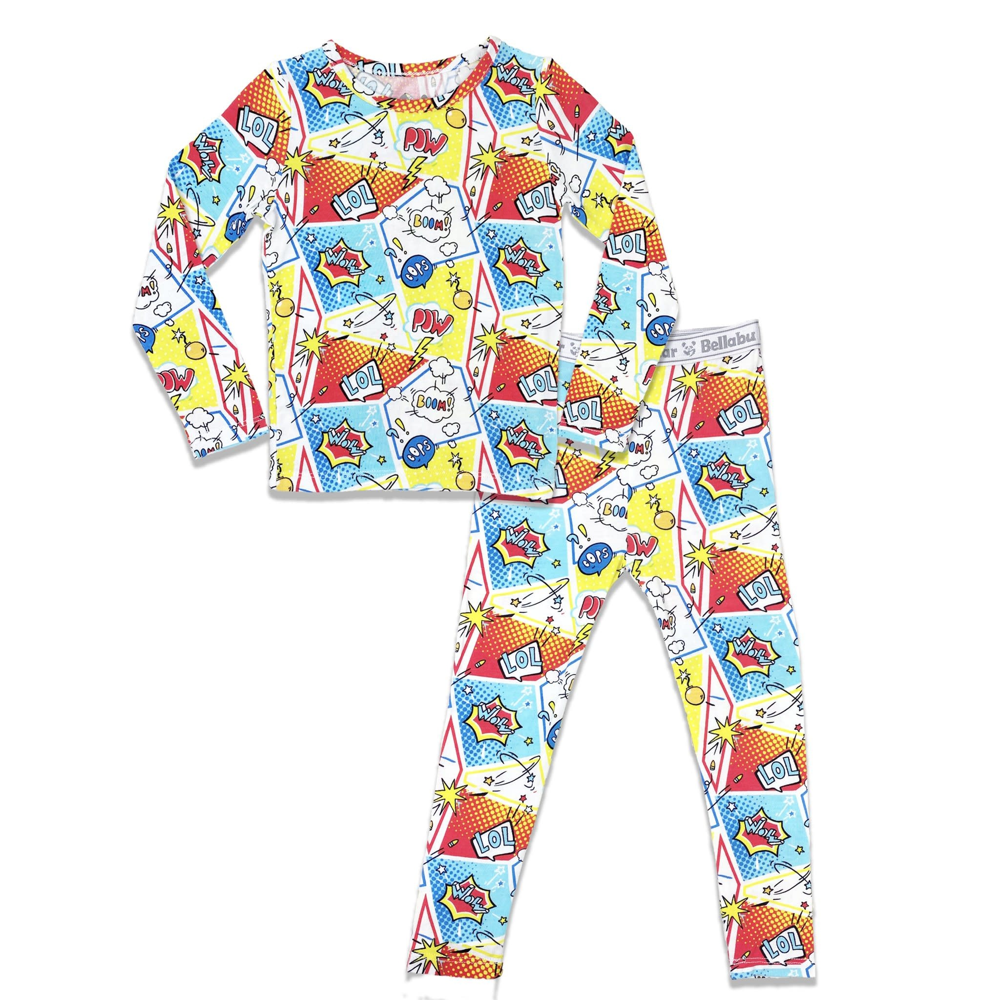 Bellabu Bear Bamboo Kids Pajamas