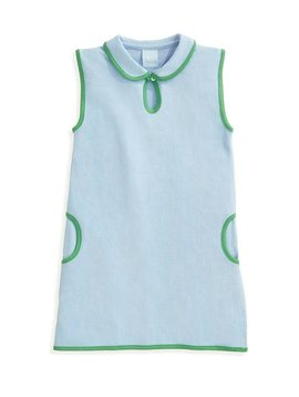 bella bliss Blue Pique Tennis Dress
