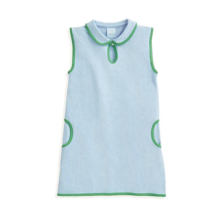 bella bliss Blue Pique Tennis Dress