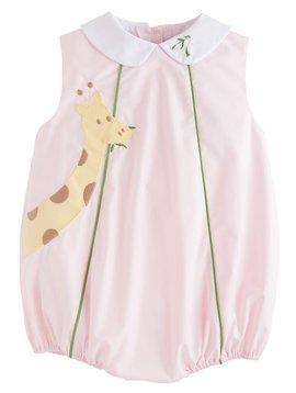 Little English Pink Giraffe Bubble