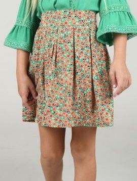 Mini Molly Ireland Green Skirt