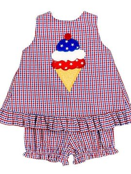 Bailey Boys Ice Cream Cone Angel Dress