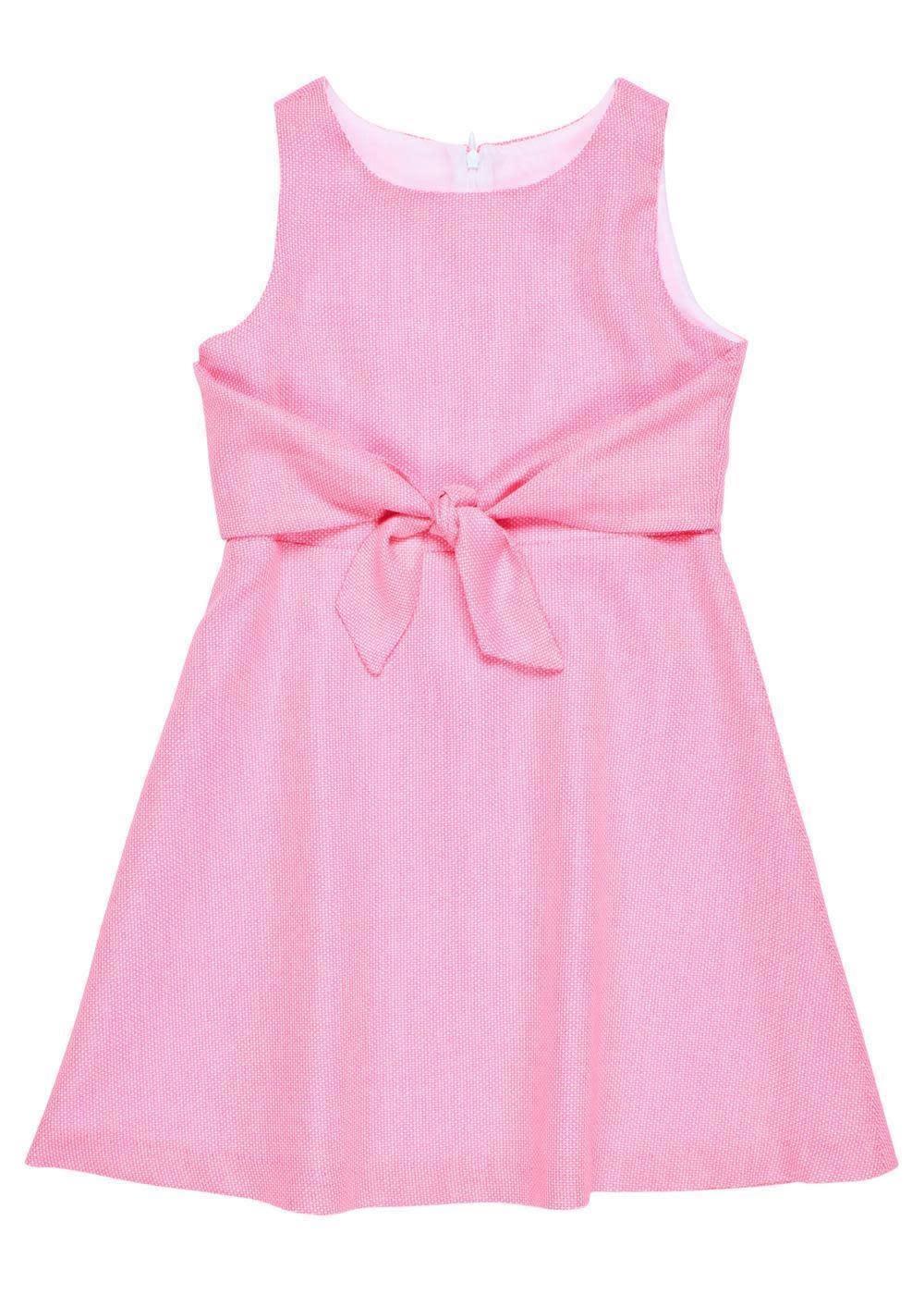 Florence Eiseman Front Tie Pique Dress