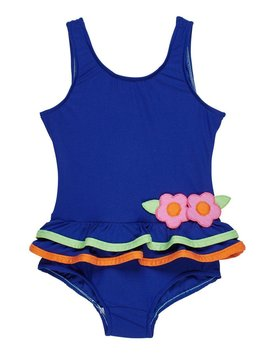Florence Eiseman Bright Navy Tank Swimsuit