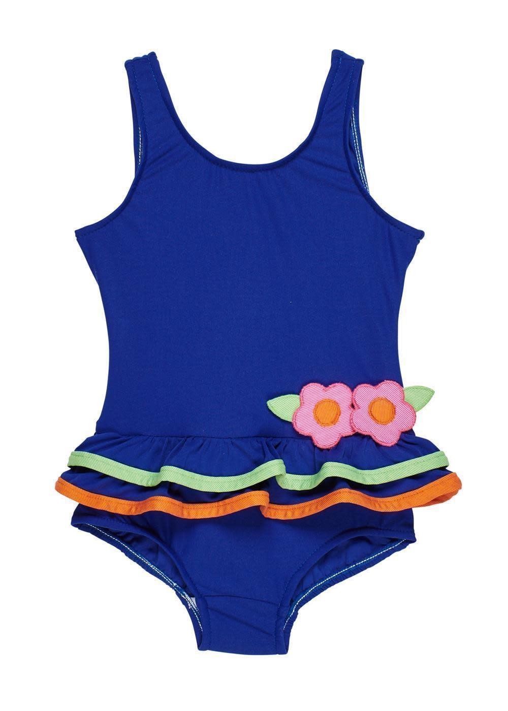 Florence Eiseman Bright Navy Tank Swimsuit
