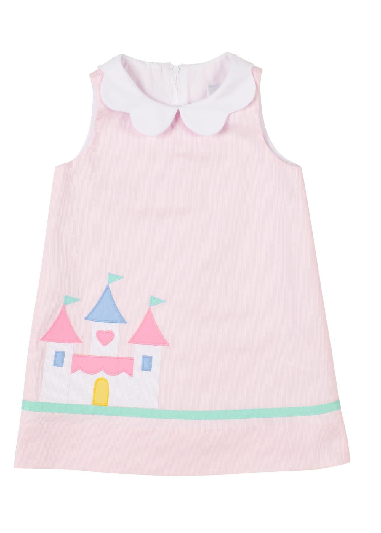 Florence Eiseman Princess Castle Pink Dress