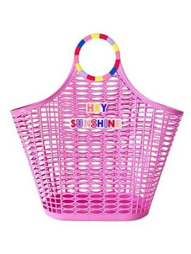 Packed Party Hey Sunshine Jelly Tote