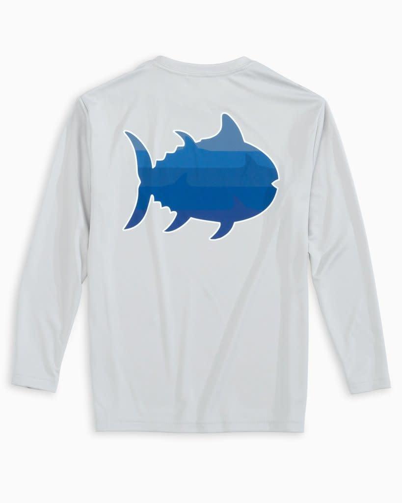 Southern Tide Perf Shark Tee
