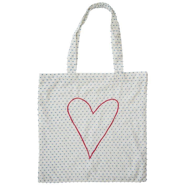 Everbloom Heart Tote Bag