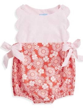 bella bliss Daisy Floral Scallop Bubble