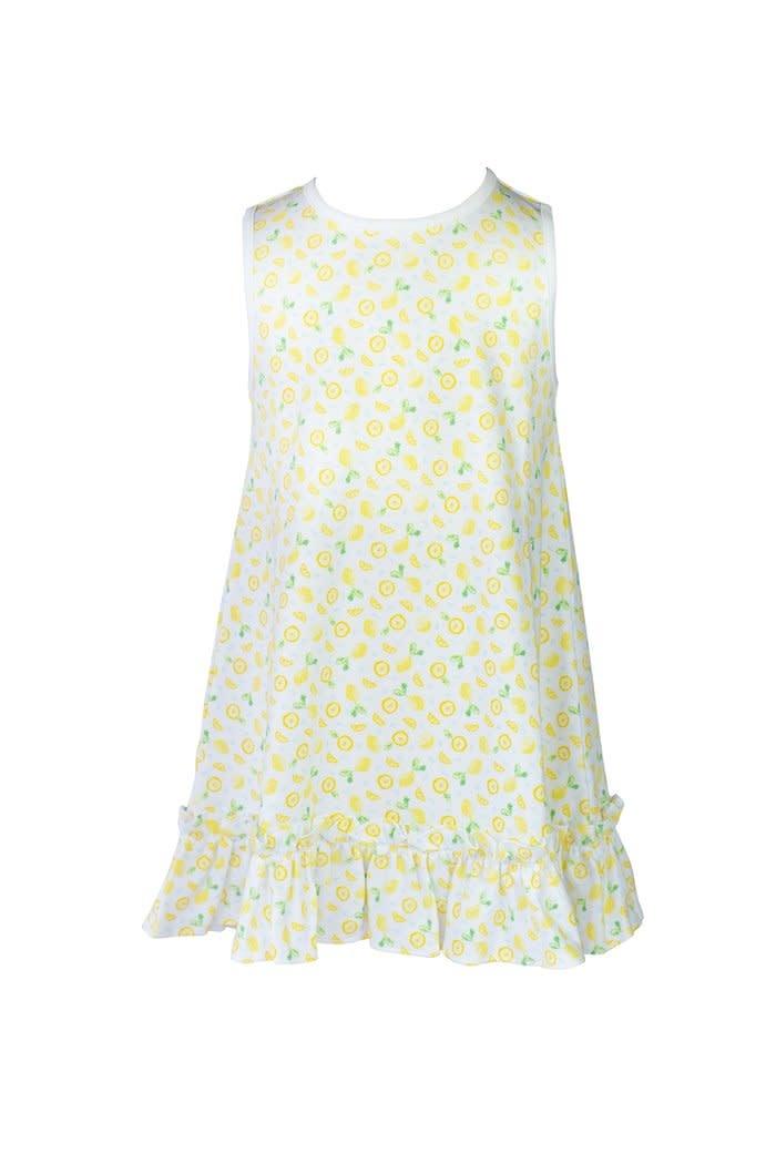 the proper peony Lemon Dress