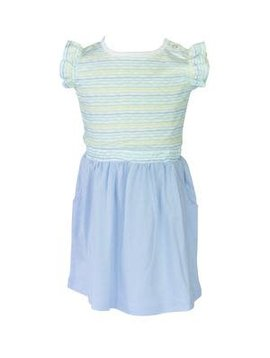 the proper peony Stripe Edith Dress
