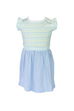 the proper peony Stripe Edith Dress
