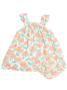 Angel Dear Marigold Garden Sundress