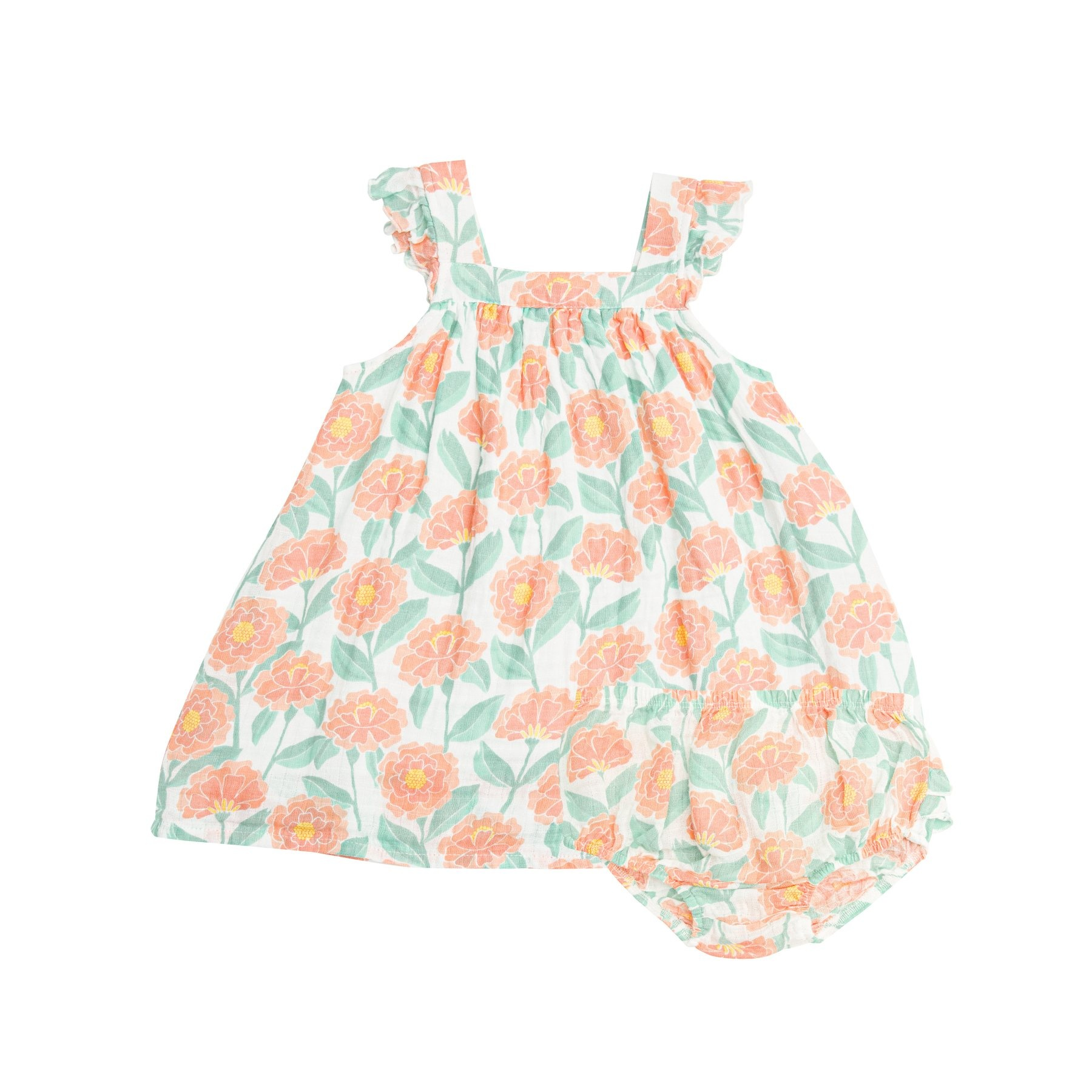 Angel Dear Marigold Garden Sundress