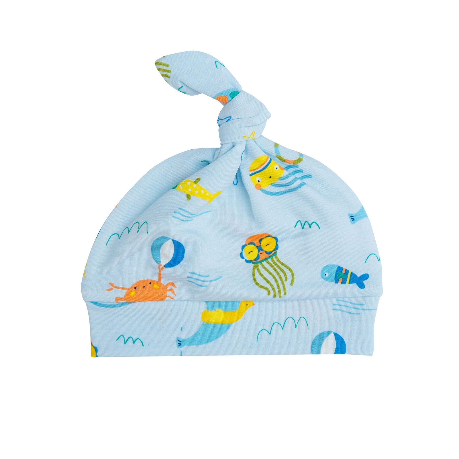 Angel Dear Sea Creatures Knotted Hat