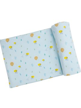 Angel Dear Little Bee Swaddle Blanket