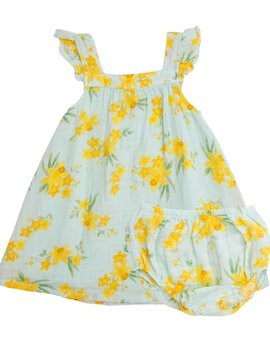 Angel Dear Daffodils Sundress