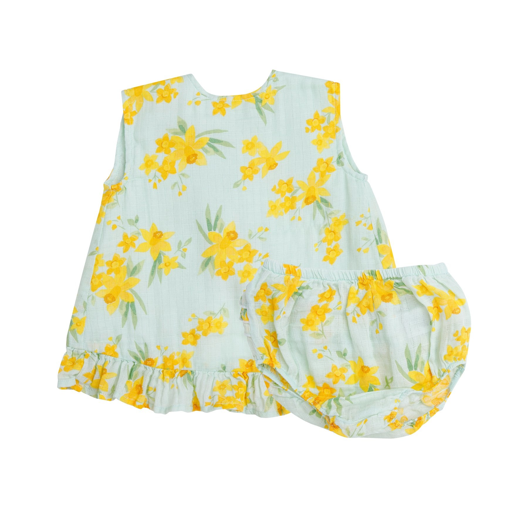 Angel Dear Daffodils Ruffle Top/Bloomer