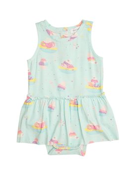 Angel Dear Banana Split Skirted Bodysuit
