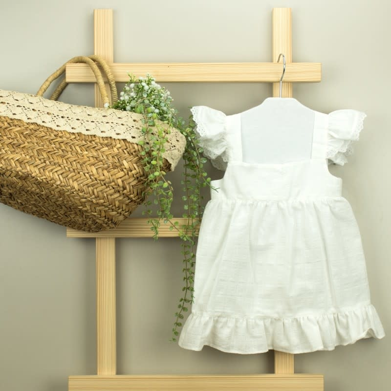 Babidu White Allegra Dress