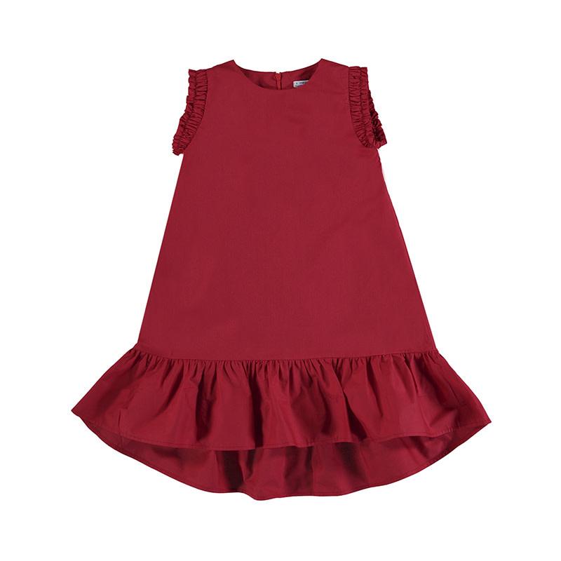 Mayoral Poppy Poplin Dress