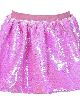 Lola & the Boys Pink Sequin Skirt